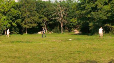 Z Boaz Park, Main course, Hole 9 Reverse (back up the fairway)