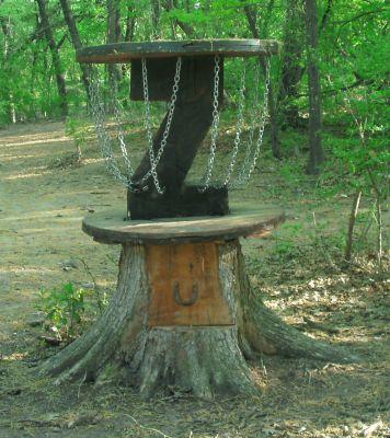 Z Boaz Park, Main course, Hole 15 Hole sign