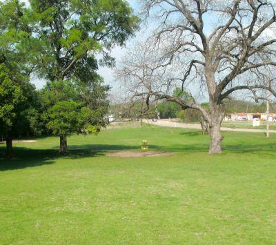 Z Boaz Park, Main course, Hole 4 Midrange approach