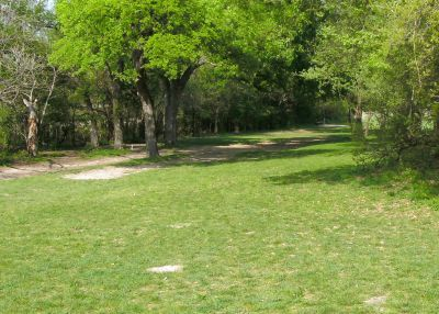 Z Boaz Park, Main course, Hole 5 Reverse (back up the fairway)