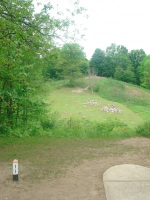 Flip City, Main course, Hole 11 Long tee pad