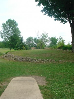 Flip City, Main course, Hole 1 Long tee pad