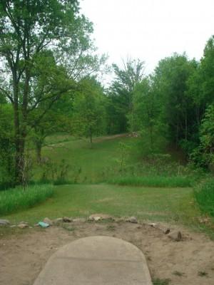 Flip City, Main course, Hole 12 Long tee pad