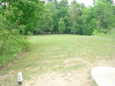 Flip City, Main course, Hole 5A Long tee pad