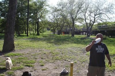 Audubon Park, Main course, Hole 9 Tee pad