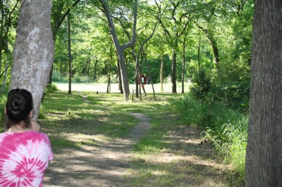 Audubon Park, Main course, Hole 4 Tee pad