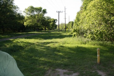 Audubon Park, Main course, Hole 11 Tee pad