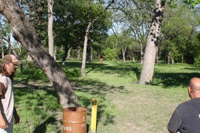 Audubon Park, Main course, Hole 8 Tee pad