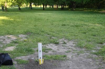 Audubon Park, Main course, Hole 15 Tee pad