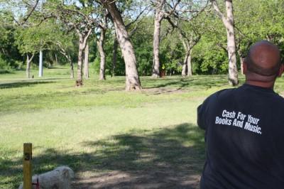 Audubon Park, Main course, Hole 3 Tee pad