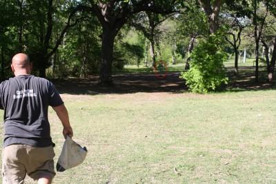 Audubon Park, Main course, Hole 2 Midrange approach