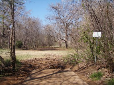 Bear Creek, Main course, Hole 6 Short tee pad