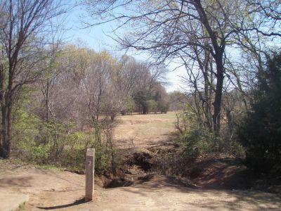 Bear Creek, Main course, Hole 2 Short tee pad