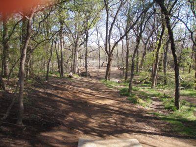 Bear Creek, Main course, Hole 15 Short tee pad