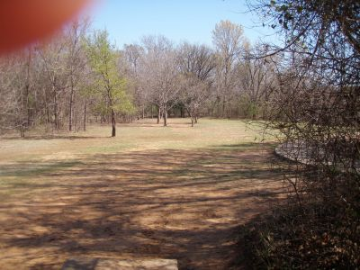 Bear Creek, Main course, Hole 3 Short tee pad