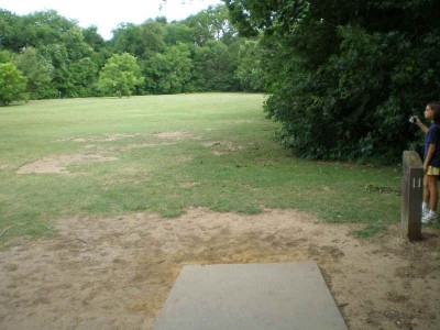 Bear Creek, Main course, Hole 11 Tee pad