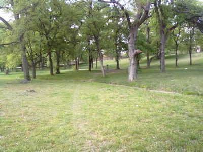 North Park, Main course, Hole 2 Midrange approach