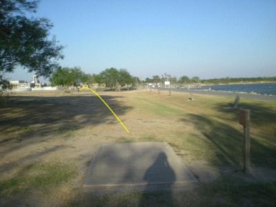 Dixieland Park, Main course, Hole 3 Tee pad
