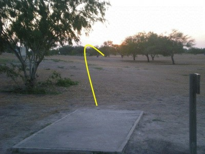 Dixieland Park, Main course, Hole 12 Tee pad