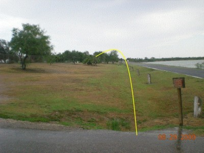 Dixieland Park, Main course, Hole 18 Tee pad