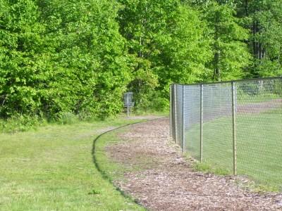 Rycenga Park, Main course, Hole 5 Long approach