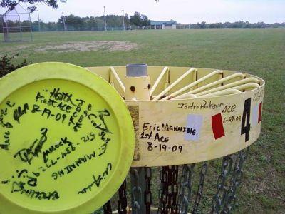 Jack Brooks Park, Main course, Hole 4