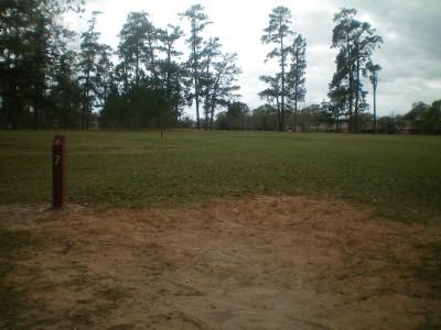 TC Jester Park, Main course, Hole 7 Long tee pad