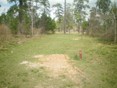 TC Jester Park, Main course, Hole 8 Long tee pad