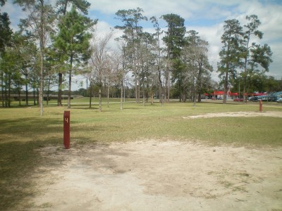 TC Jester Park, Main course, Hole 4 Long tee pad
