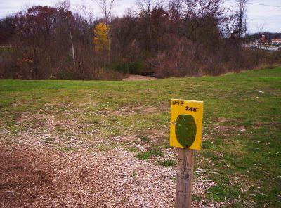 Begg Park, Main course, Hole 13 Tee pad