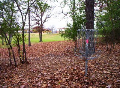 Begg Park, Main course, Hole 15 Putt