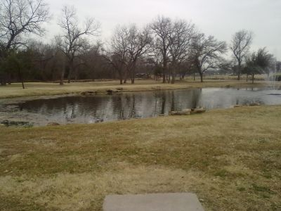Fritz Park, Main course, Hole 6 Tee pad