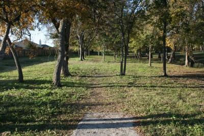 Steeplechase Park, Main course, Hole 14 Tee pad