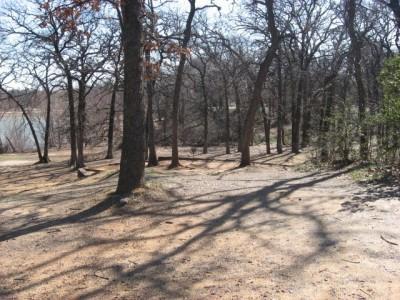 Lake Lewisville Park, Main course, Hole 2 Midrange approach