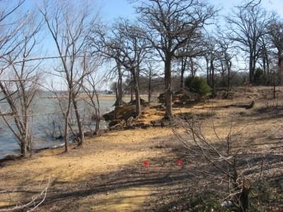Lake Park Lewisville, Main course, Hole 3 Midrange approach