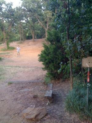 Lake Park Lewisville, Main course, Hole 2 Tee pad