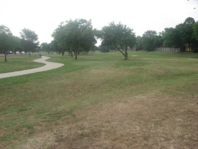 Leonard L. Woods Park, Main course, Hole 12 Tee pad