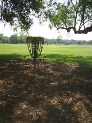 Live Oak City Park, Main course, Hole 8 Reverse (back up the fairway)