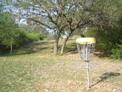 Live Oak City Park, Main course, Hole 24 Reverse (back up the fairway)