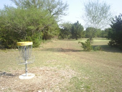 Live Oak City Park, Main course, Hole 15b Reverse (back up the fairway)