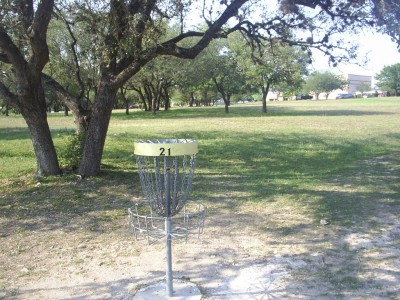 Live Oak City Park, Main course, Hole 21 Reverse (back up the fairway)