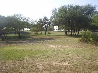 Live Oak City Park, Main course, Hole 23 Long approach