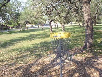 Live Oak City Park, Main course, Hole 23b Reverse (back up the fairway)