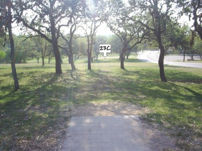 Live Oak City Park, Main course, Hole 23c Tee pad