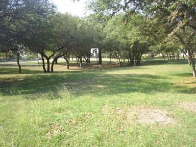 Live Oak City Park, Main course, Hole 18 Long approach