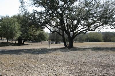 Live Oak City Park, Main course, Hole 21 Short approach