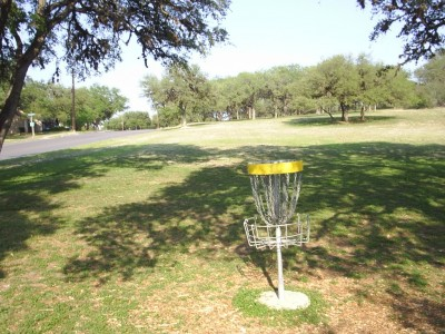 Live Oak City Park, Main course, Hole 23c Reverse (back up the fairway)