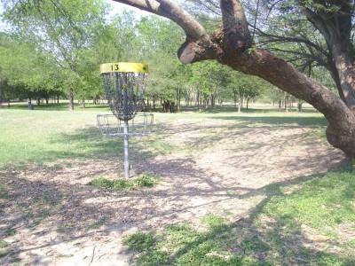 Live Oak City Park, Main course, Hole 13 Reverse (back up the fairway)