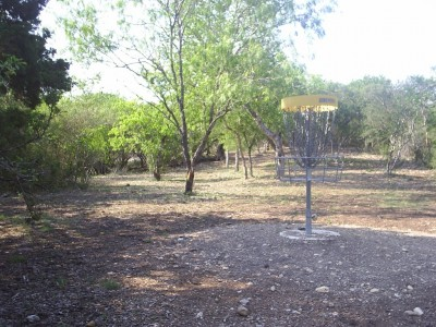 Live Oak City Park, Main course, Hole 15c Reverse (back up the fairway)