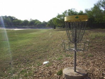 Live Oak City Park, Main course, Hole 27 Reverse (back up the fairway)